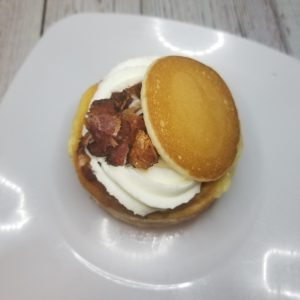 Maple Pancake with Bacon